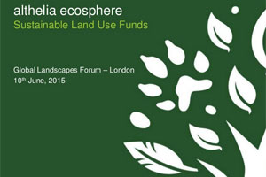 Sustainable Land Use Funds – Althelia Ecosphere