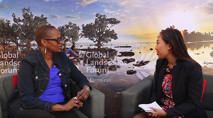 Wanjira Mathai at GLF: Gender and landscapes