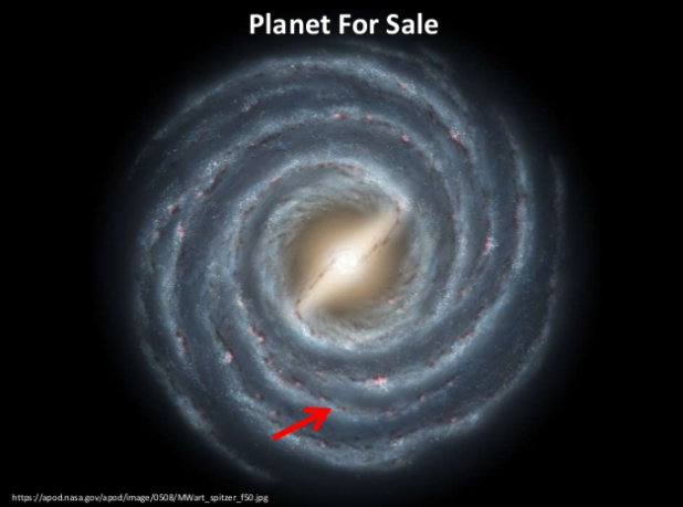Planet for sale